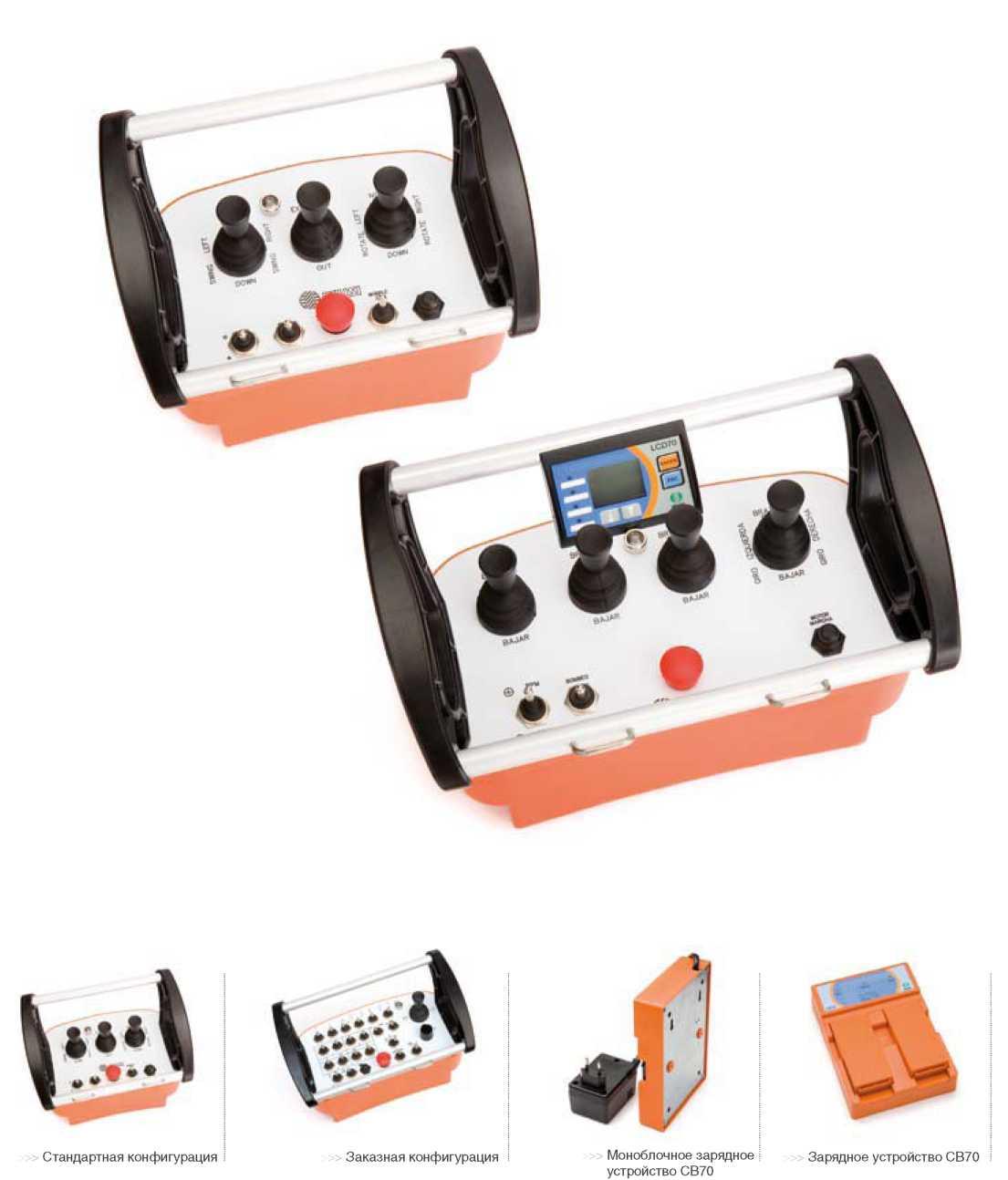 Системы дистанционного радиоуправления